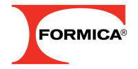 Formica laminate surfaces