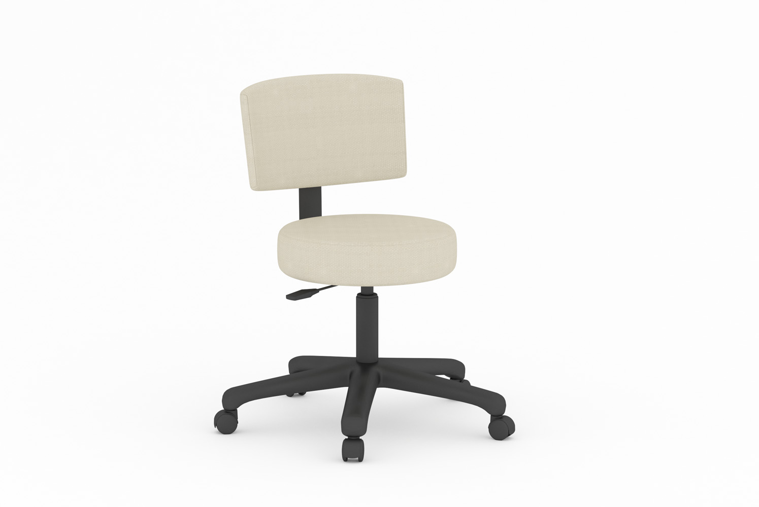 Libra, Swivel Base, Stool, Full Back
