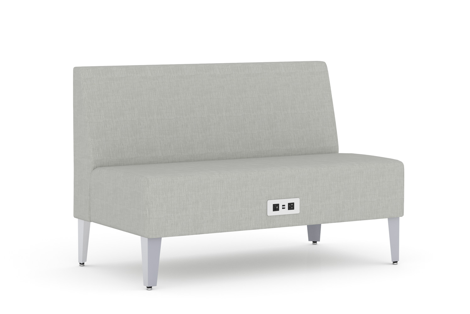 Malibu, Banquette, 48 inch, Power/Data Unit