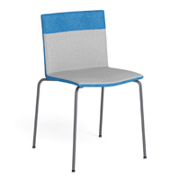 Metropolis Two Fabric Chair
