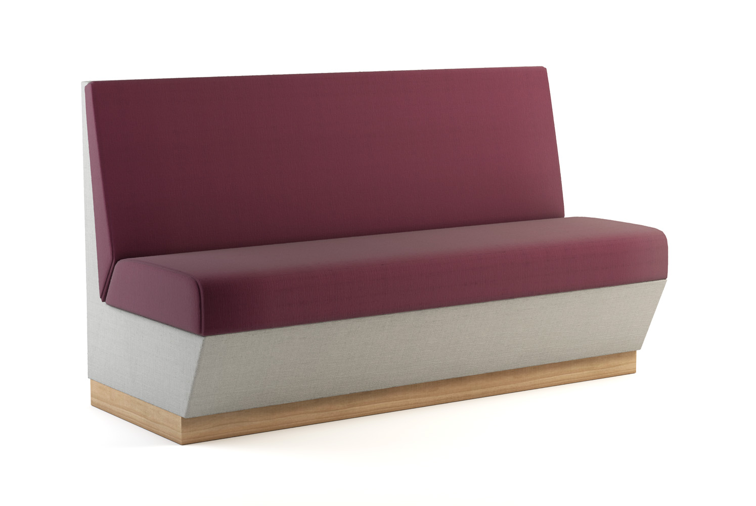 Napoli, Banquette, 60 inch, Back-to-Back
