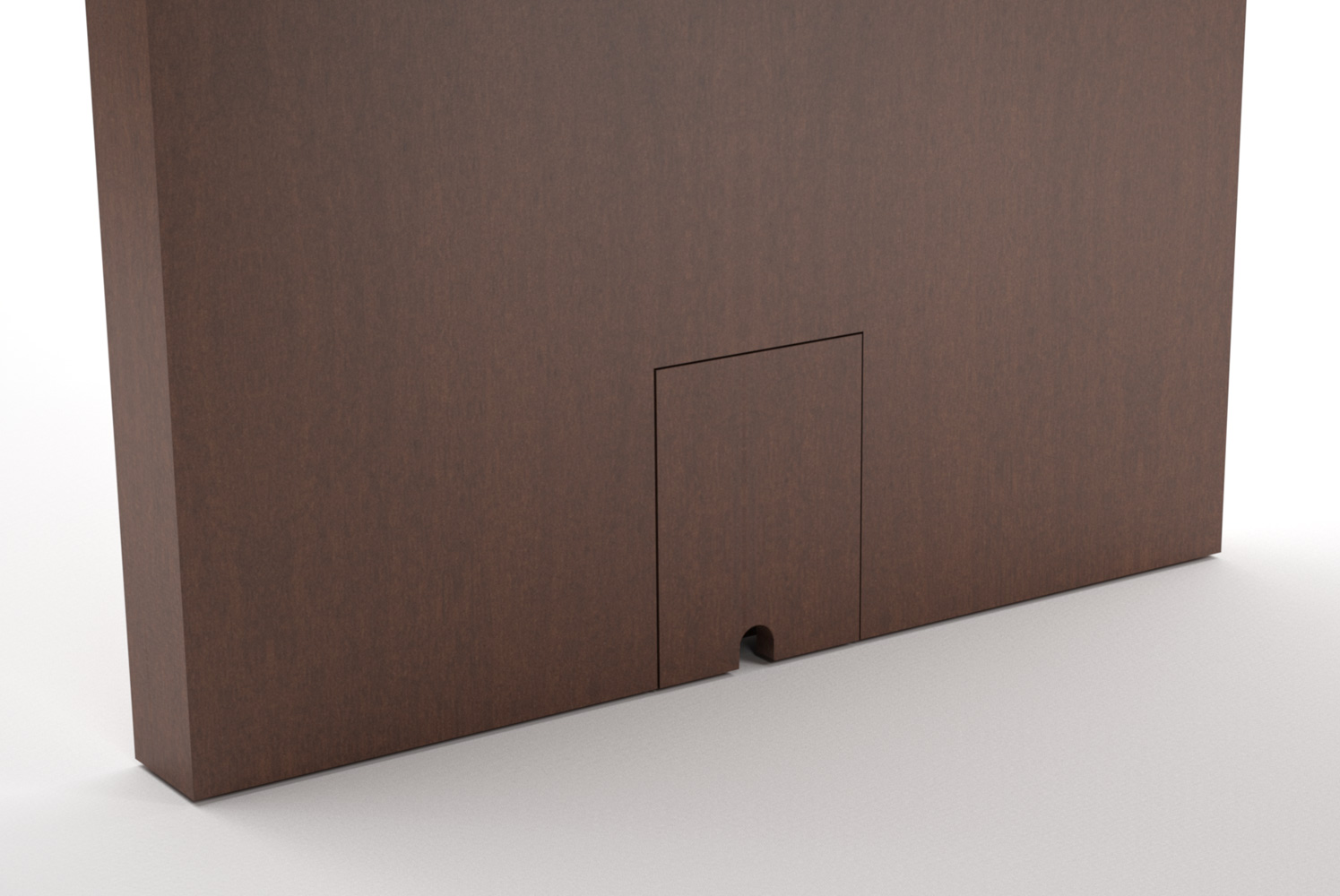 Laminate Velcro Access Door Detail
