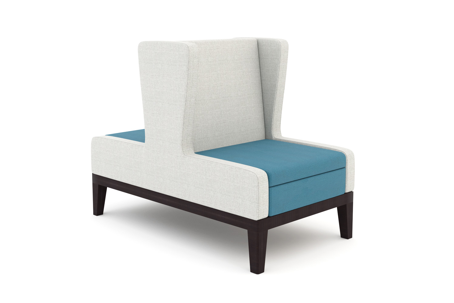 Symphony, Banquette, Single Seat, Back-to-Back