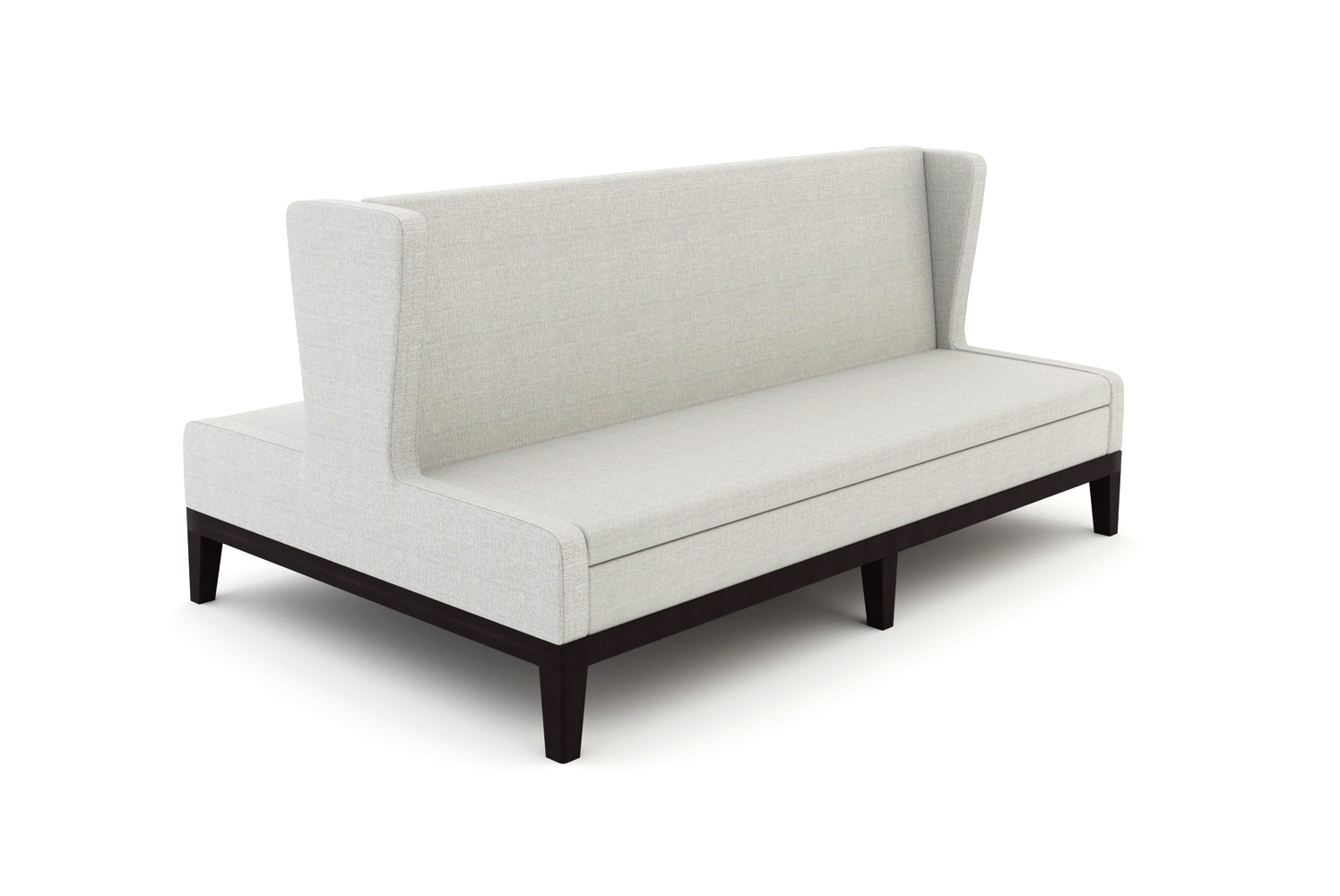 Symphony, Banquette, 3-Seat, Back-to-Back