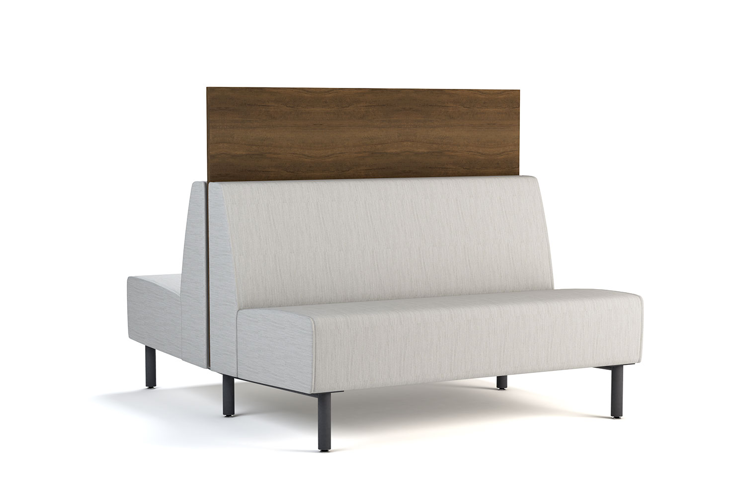 Tivoli, Banquette, Back-to-Back, 48 inch, Panel