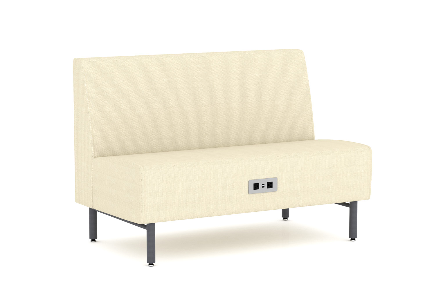 Tivoli, Banquette, 48 inch, Power/Data